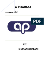 AJANTA PHARMA LIMITED annual report.docx