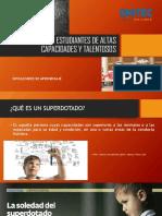 6. DIAPOSITIVAS DETECCIÓN DE ESTUDIANTES DE ALTAS CAPACIDADES Y TALENTOSOS