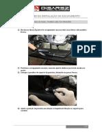 Instruções de Instalação de Escapamento Disarsz