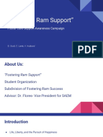 fostering ram support- foster care awareness campaign