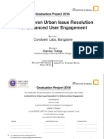 Context Driven Urban Issue Resolution For Enhanced User Engagement