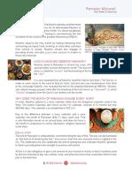 QAI Ramadan Fact Sheet