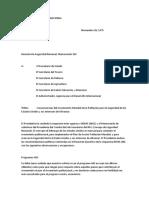 Memorandum 200 en Español