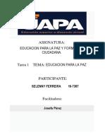 Tarea 1 Educacion a Lapaz