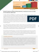 Boletín Económico Fuentes de financiamiento y condición de acceso al crédito de las empresas (ENAE 2012).pdf