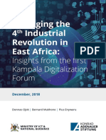 Kampala Digitalization Conference 2018  Report