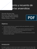 Aislamiento y recuento de microorganismos anaerobios