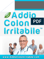 Addio Colon Irritabile Libro PDF | Jack Palmer