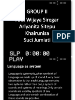 PPT Characteristic of languages