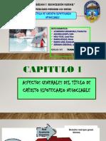 Diapositivas Del Título de Créditdiapio Hipotecario Negociable