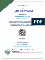 Viruses and Antivirus report