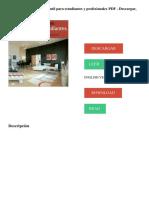 Diseño de interiores. guia util para estudiantes y profesionales PDF - Descargar, Leer DESCARGAR LEER ENGLISH VERSION DOWNLOAD READ..pdf