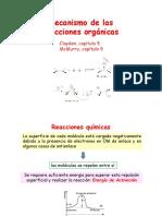 Mecanismo de Las Reacciones Orgánicas
