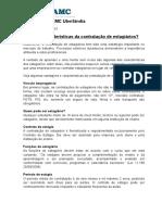 3 - Regras e Caracteristicas Da Contratação de Estagiarios