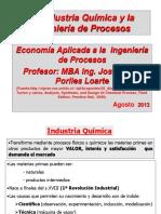 1 a Agosto 2013 La Industria Quimica e Ing de Procesos