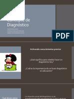 Concepto de Diagnóstico