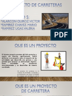 Proyecto Diseño Vial