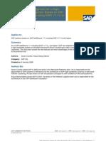 HA SAP System on Netweaver 7.1