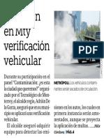 09-04-19 Preparan en Mty verificación vehicular