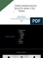 Proyecciones Radiologicas Del Esqueleto Axial y Del Torax