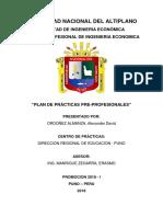 PLAN DE PRACTICAS