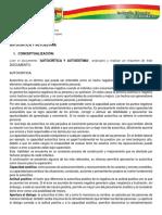 Autocrítica y Autoestima (Tema 2)
