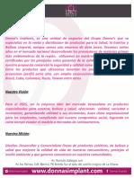 Presentacion Donnas Implants