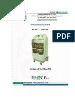 manual de servicio monitor multiparametrico Mindray beneview T5