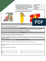 Formato Conformación de Brigada Incendios