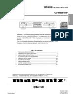 MARANTZ DR 4050-SERVICE MANUAL.pdf
