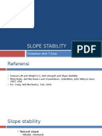 2. Slope Stability