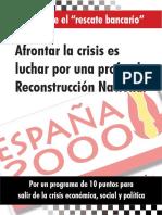 INFORME RESCATE DE LA BANCA . E 2000