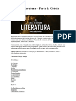 Lista de Leitura Gécia Antiga