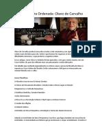 Lista de leitura Ordenada - Olavo de Carvalho.docx