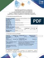 Guía de actividades y rúbrica de evaluación - Tarea 2 - Fundamentos de campo magnetostático.docx