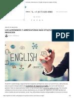 Acrónimos y Abreviaturas en El Inglés de Negocios _ English Live Blog