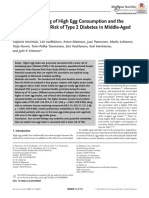 Metabolic Profiling of High Egg Consumtpion and the Associated Lower Risk of Type 2 Diabettes in Middle Aged Finnish Men-2019-Mnfr.201800605