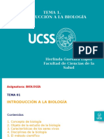 ABiologia 2019 UCSS Tema 01 Fac Ciencias Salud