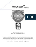 Manual IR-622 Combustible Detcon