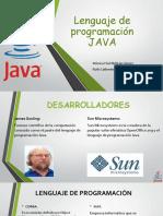 Lenguaje de Programacion JAVA