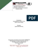 Actividad No. 7 Diagrama de Flujo de Mi Empresa Análisis de Procesos de Trabajo Admin S.O -UNIMINUTO Florencia Caquetá