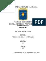 Informes de Ensayos.docx