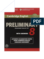 158- Cambridge English Preliminary English Test 8 With Answers_2014 -171p.pdf