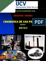 Cinematica de Una Particula1 Ucv Sesion 1( 2016-i)