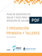 prevencion primaria y talleres