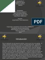 Actividad No. 6 de Legislación Laboral Ejercicio Práctico Salarios Por JUAN URQUINA-DANIA CAMPOS-MARIA SARMIENTO-LEIDY QUIROZ - Uniminuto CT.florencia