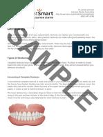 ADA PatientSmart Dentures