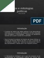 Mitos e Mitologias Políticas - Raoul Girardet