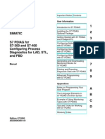 s7 Pdiag for s7-300 and s7-400 Diagnostics for Lad, Stl, And Fbd_ingles