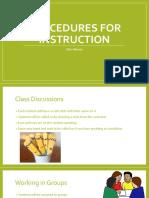 procedures-instruction